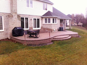 brick patio Northville