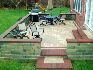 brick patio South Lyon