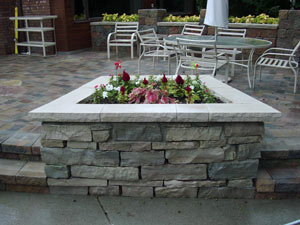 brick patio MI