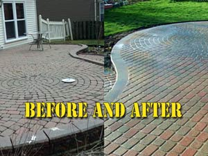 Brick pavers repair Michigan