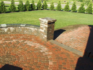 brick paver patio northville
