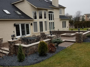 paver patio South Lyon Michigan