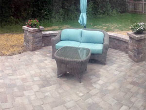 brick patio Farmington Hills