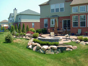 landscaping northville