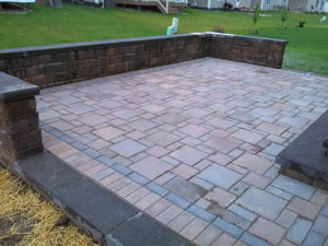 brick paver patio Livonia