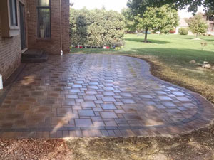 brick patio installation Livonia