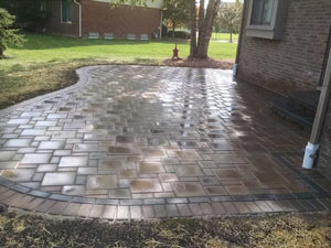 paver patio Livonia