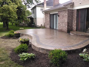 paver patio Northville
