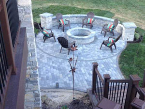 paver patio West Bloomfield