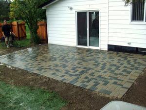 paver patio Michigan