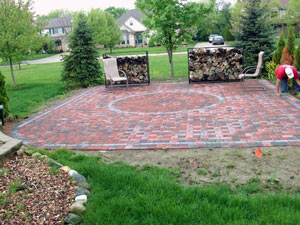 paver patio canton