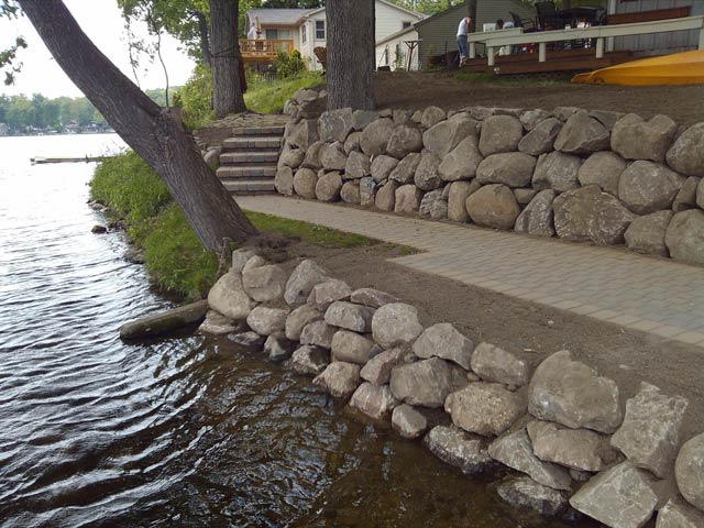 Retaining Walls Allscapes Landscape Inc