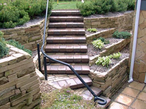retaining wall Michigan