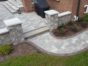 paver brick walkway Plymouth Michigan